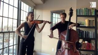 TSO Violin Clare Semes and Principal Double Bass Jeffrey Beecher perform Chopin's Nocturne