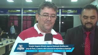 Girleudo requereu Luzes Natalina para Flores, e comenta sobre concessão de empréstimo ao município