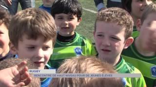 Rugby : rencontre de haut niveau pour de jeunes élèves