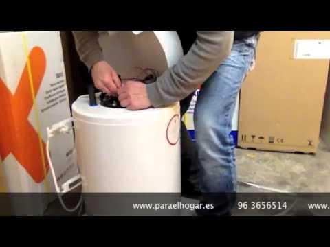 Cambiar resistencia de termo envainada youtube - Termo electrico 50 litros ...
