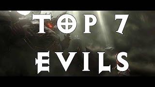 Top 7 Best Diablo Bosses! (The Greater Evils)