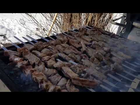 Hot and cold weather Montreal life  Armenian style bbq party Saint Joseph du Lac