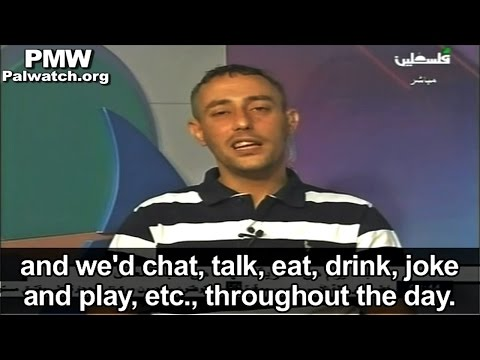 Released Palestinian prisoner describes prisoners' life of fun, play and study