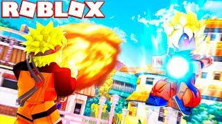ROBLOX ANIME TYCOON (Dragonball Z VS One Piece VS Naruto VS Hero Academia)