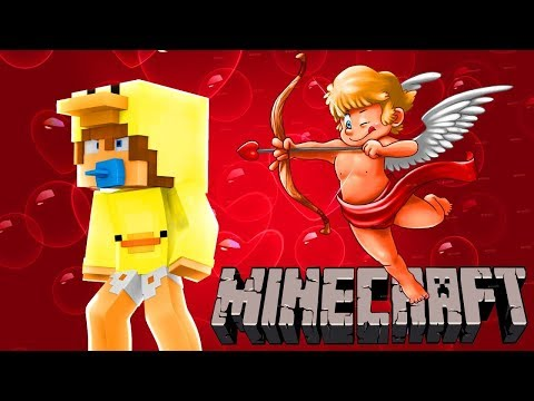 MINECRAFT VALENTINES DAY || CUPID GETS HIT WITH AN ARROW & NEEDS SURGERY