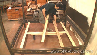 Shaka Studios Canopy Bed Assembly