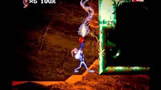 Earthworm Jim 2 - Super Nintendo - Level 1 and 2 - User video