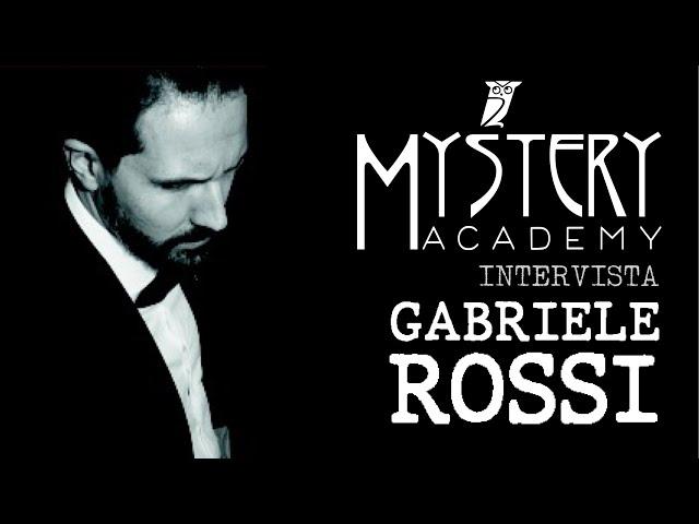 INTERVISTA A GABRIELE ROSSI!