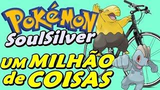 Pokémon SoulSilver (Detonado - Parte 6) - Bicicleta, Day-Care, Quizz e Muito Mais em Goldenrod