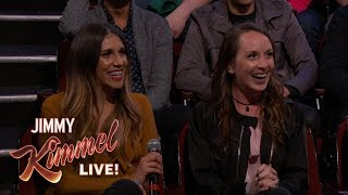 Behind the Scenes with Jimmy Kimmel and Audience (Divorce Trip After 48 Hour Marriage)