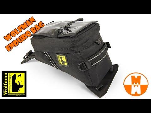 Wolfman Enduro Tank Bag Crf250l Product Review