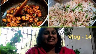 Vlog 14/EggFried Rice/Chicken Fry/Kitchen Tips/Special Dish/Indian working woman routine