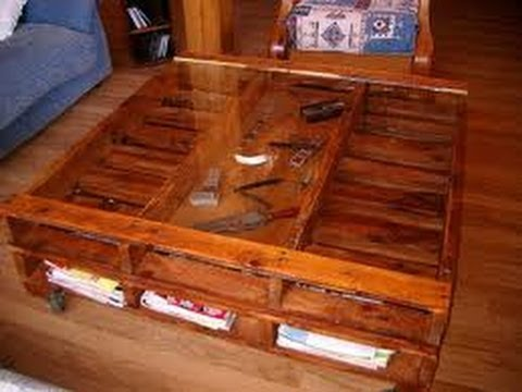 Como hacer muebles reciclados 8 youtube - Muebles reciclados vintage ...
