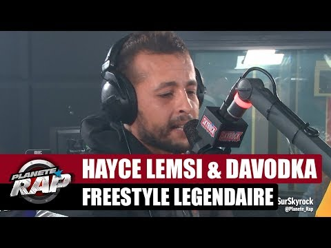 Youtube: Hayce Lemsi – Freestyle légendaire x Davodka #PlanèteRap
