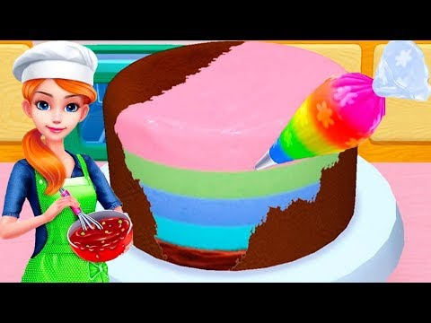Fun Learn Cake Cooking & Colors Educational Games - My Bakery Empire - Bake, Decorate & Serve Cake