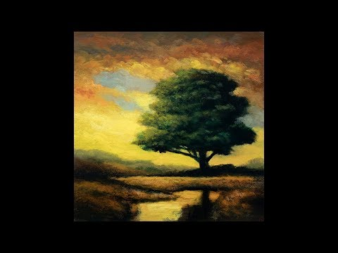 Morning Light 8×8 Redo Tonalist Landscape Oil Painting Demonstration