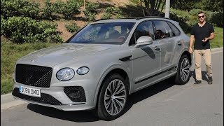 2021 Bentley Bentayga Test Drive Video Review