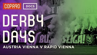 Clash of the Classes - Austria Vienna vs Rapid Vienna   DerbyDays