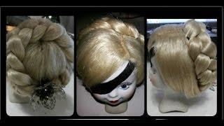 DIY:  Парик для куклы.