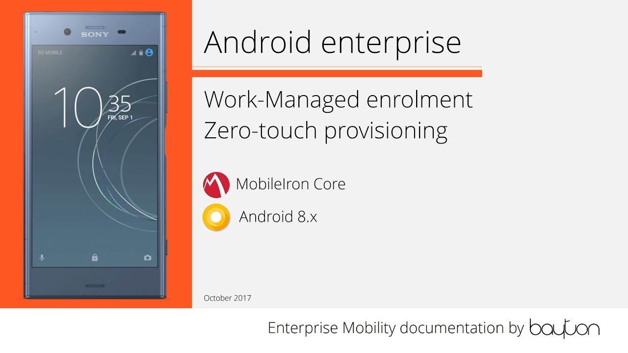 What is Android zero-touch enrolment? | Jason Bayton