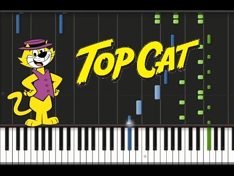top cat theme song synthesia tutorial youtube. Black Bedroom Furniture Sets. Home Design Ideas
