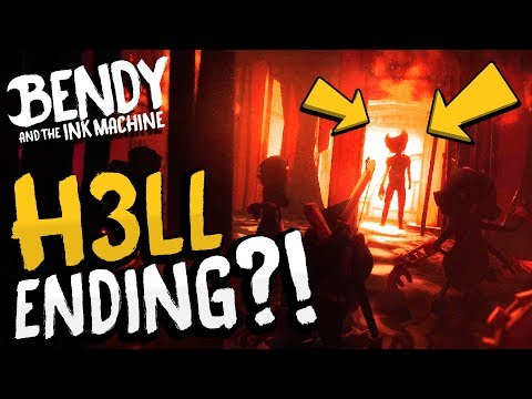 AND WE ALL GO DOWN TO H3LL... A Terrifying New Ending! | Bendy and the Ink Machine Chapter 3 Ending