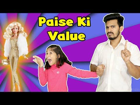Paise Ki Value Moral Story For Kids   Pari's Lifestyle