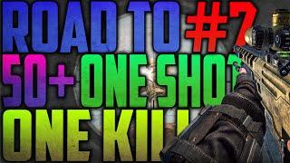 RETARD ALERT! - Road to 50 One Shots, One Kills #7 (COD: Black Ops 2)