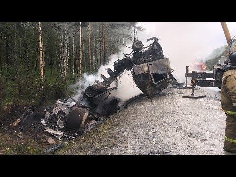 Смертельная авария Миассом и Златоустом столкнулись Honda CR-V и Volvo