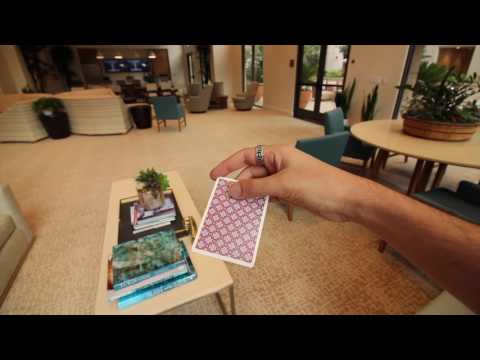 How To Throw A Card Like A BOOMERANG - Card Trick Tutorial
