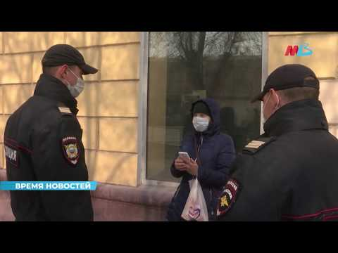 Полиция Волгограда следит за соблюдением режима самоизоляции