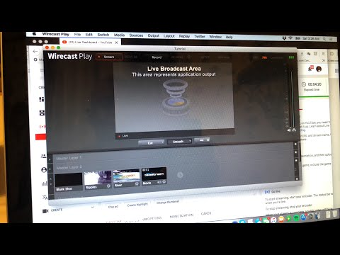 Testing Wirecast Laptop Livestream On Zennie62 On YouTube From iPhone 8 Plus