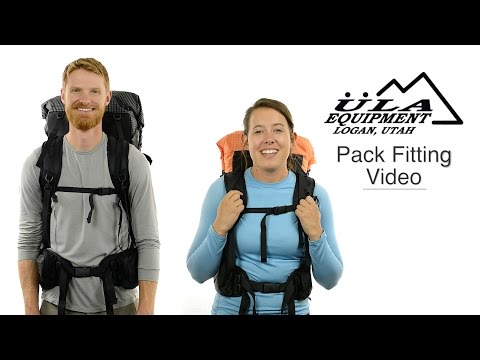 How To Fit And Adjust ULA Equipment Backpacks