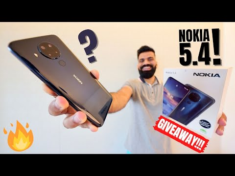 Nokia 5.4 Unboxing & First Look - A Clean Android Experience - Giveaway