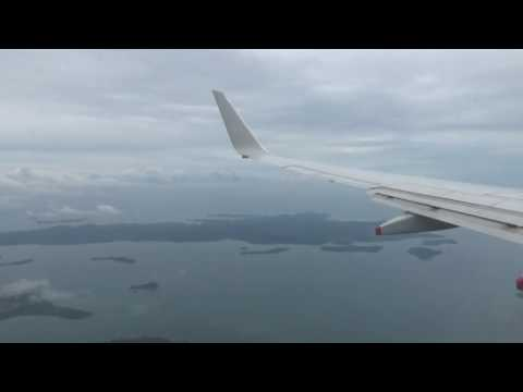 SilkAir Boeing 737-8SA Landing and Taxi at Singapore - Changi Int'l (SIN/WSSS)
