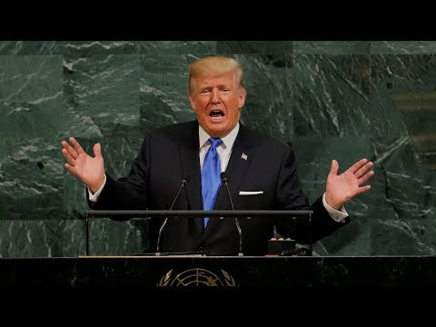 Trump's speech to the UN targeting North Korea and Iran condensed to less than three minutes