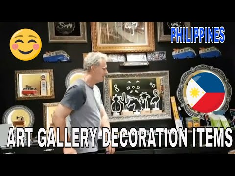ART GALLERY & DECORATION ITEMS IN PHILIPPINES!😊