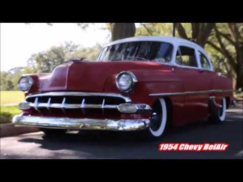 1954 Chevy BelAir RatRod Style