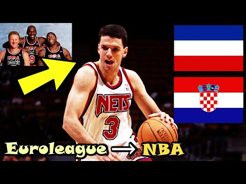 Drazen Petrovic: The Player Who Changed The NBA Forever