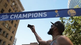 JaVale McGee Warriors Parade 2018 (Featuring Nick Young)