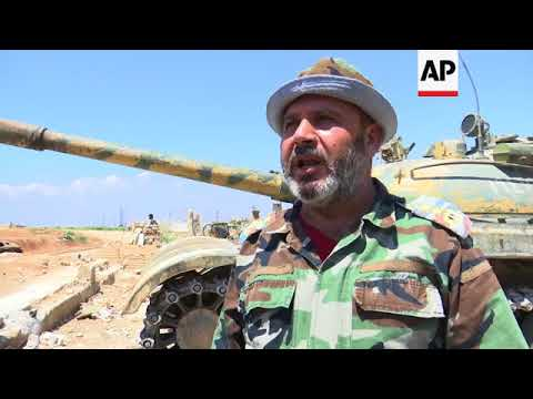 Ex-rebel Commanders Stay After Govt Forces Take Over Syrian Town