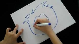 How To Draw a Club Penguin Puffle