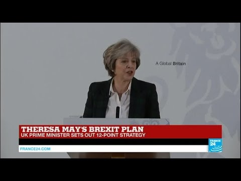 REPLAY - Watch UK PM Theresa May's Brexit plan speech