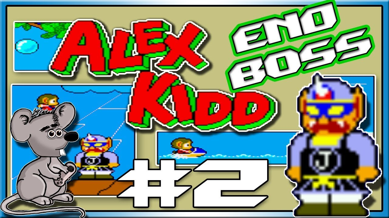 End Boss Alex Kidd In Miracle World Part 2 Youtube