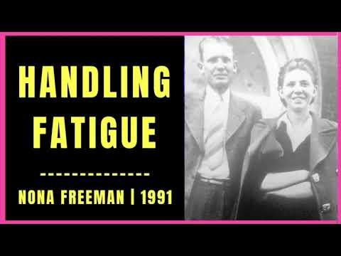 Handling Fatigue by Nona Freeman 1991