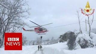Italy avalanche: 'Many missing' in Rigopiano ...