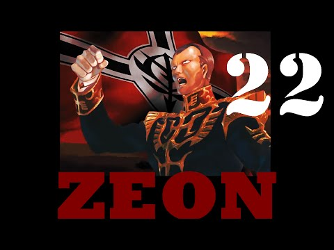 Gihren's Greed Zeon Campaign Reboot Ep 22; Odessa and Luna 2