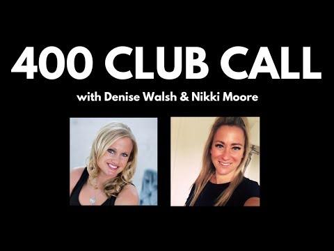 May 400 Club  Ambassador Nikki Moore