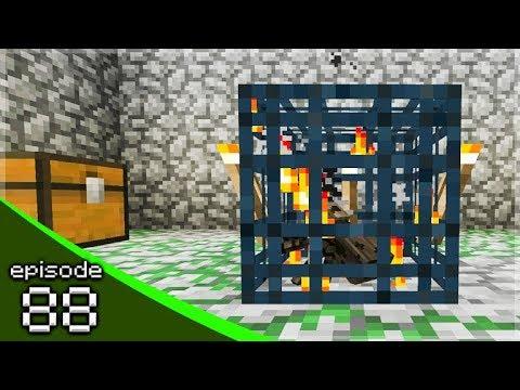 MINECRAFT PE 1.9 LET'S BUILD A SPIDER FARM!  - Soldier Adventures Season 3 (88)