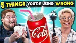 5 Everyday Objects You're Using Wrong